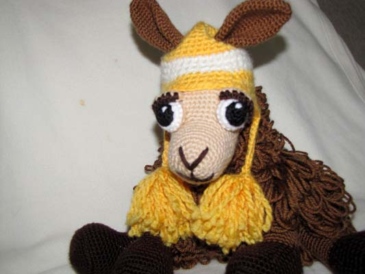 Miss Llama. She s from the Delicious Crochet llama pattern ... 4dcf0da4e0b