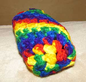 Magic Rainbow Slipper Front