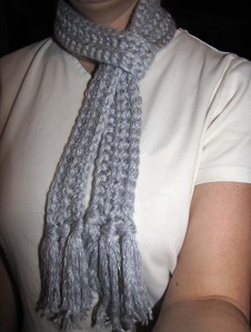 1 Hour Spectacularly Sparkly Scarf