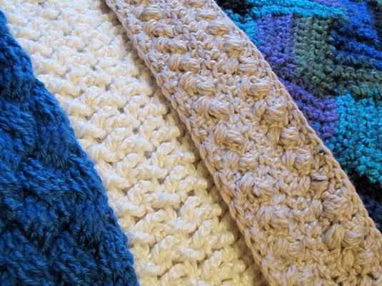 4 Woven Scarves