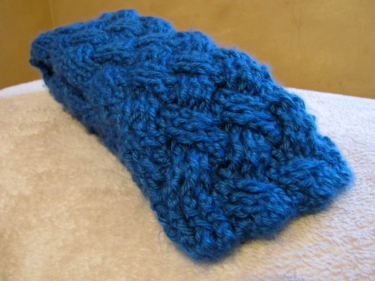 Ocean Waves Woven Scarf