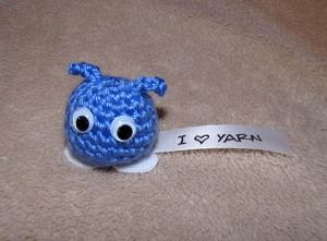 I Love Yarn Googly Thought