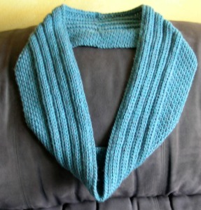 Sugared Ribs - An Infinity Scarf