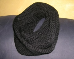 Worsted Weight Not a Brioche Infinity Scarf