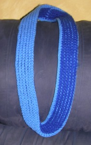 Two Tone Not a Brioche Infinity Scarf
