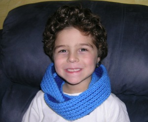 Kid's Two Tone Scarf