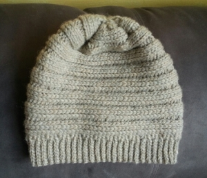 No More Snow Crocheted Hat