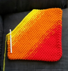 Ombre Pillow Weave In Ends