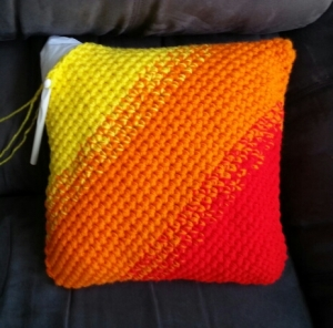 Ombre Pillow with Insert