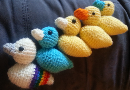 Ducks for The Little Yellow Duck Project