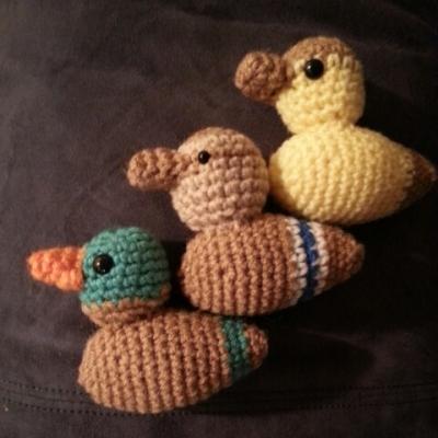 Mallard variations of Just Ducky Lovey