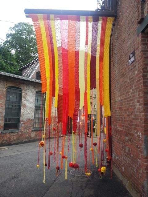 Garner Arts Festival Community Tapestry