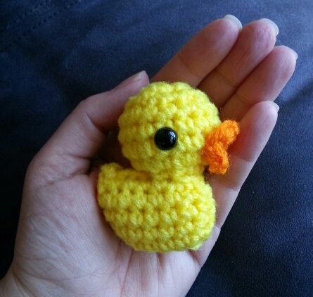 Lil Other Brother - a tiny duck
