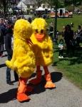 Big Ducks at Rubber Duck Derby